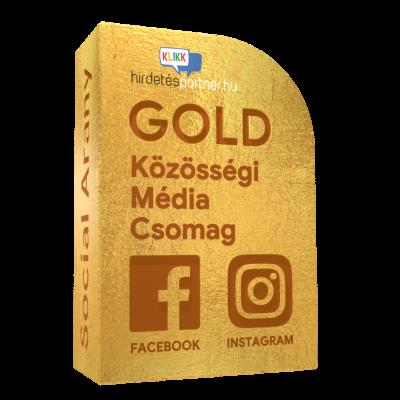 gold közösségi média csomag