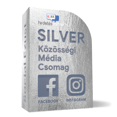 Silver csomag doboz